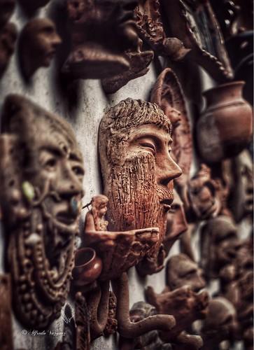 - At the ruins of Cantona, Puebla, Mexico