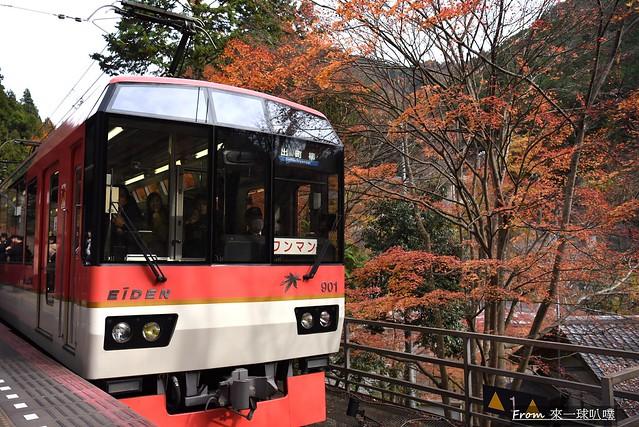 叡山電鐵楓葉隧道16