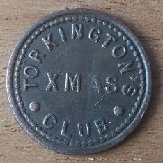 TORKINGTON'S XMAS CLUB obverse
