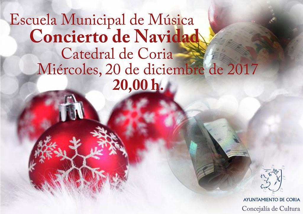 El Concierto de Navidad de la Escuela de Música se celebrará el 20 de diciembre en la Catedral de Coria