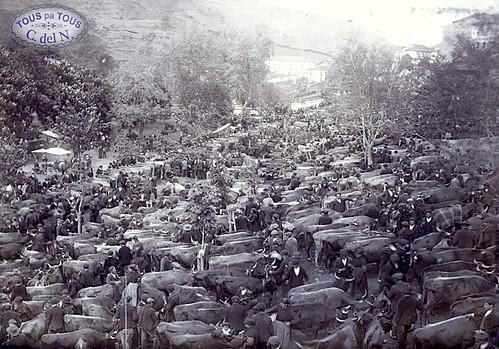 1901 - Feria en La Veiga
