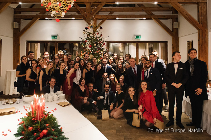 Christmas dinner for Natolin students 20 December 2017