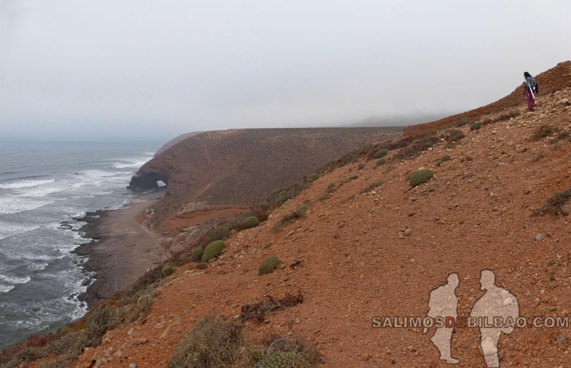 369. Saioa, Pano, Camino de Sidi Ifni a Legzira