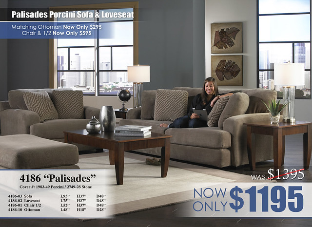 Palisades Porcini Living Set Update 4186