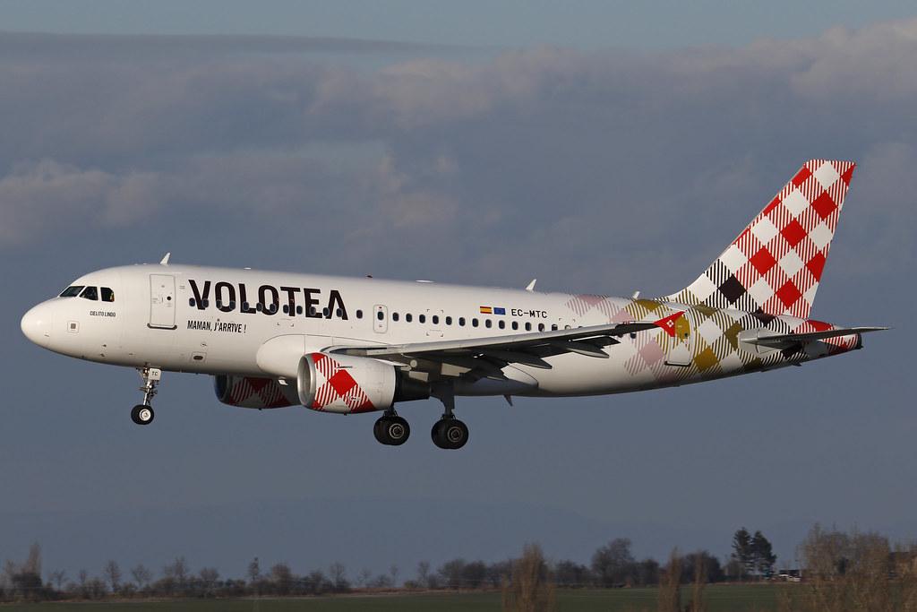 EC-MTC - A319 - Volotea