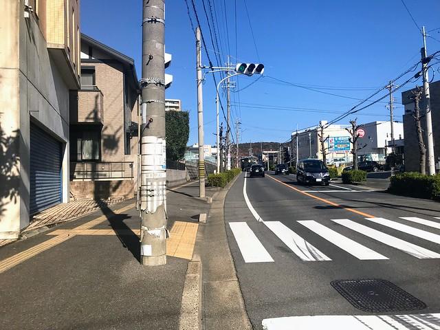 愛岐トンネル群 高蔵寺運動公園から高蔵寺駅への道