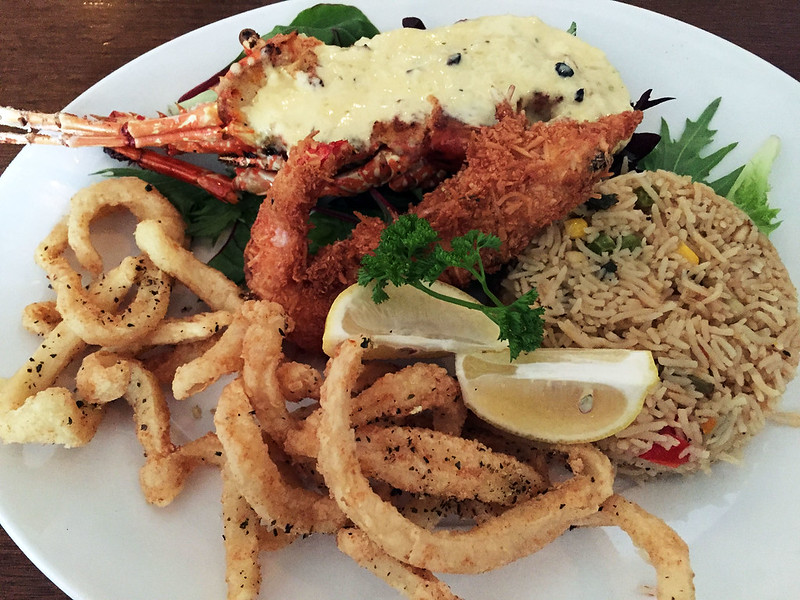 Lobster trio