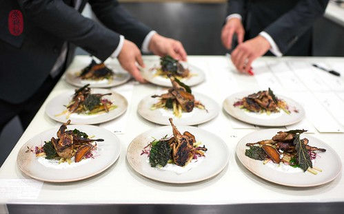 5th Course: Grilled Quail