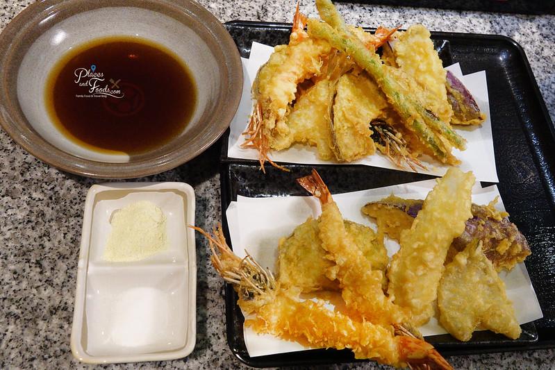 ginza hageten tempura sets