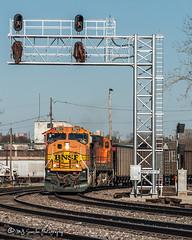 BNSF 9923 | EMD SD70MAC | BNSF Thayer South Subdivision