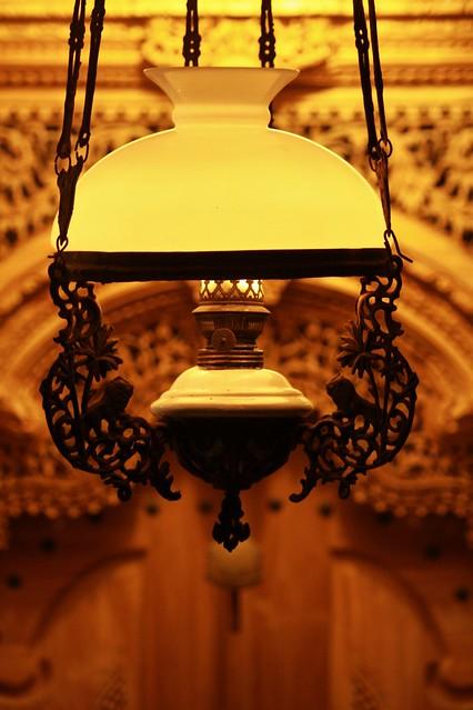 My Antique Oil Lamp