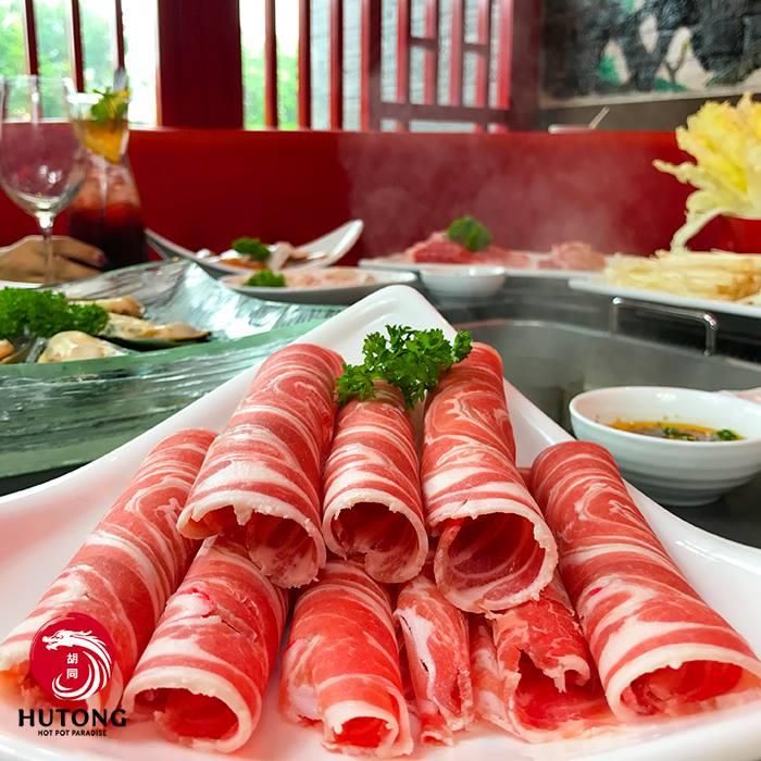Hutong menu