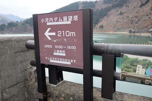Lake Okutama Ogouchi dam reservoir 02