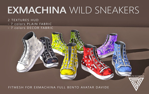 EXMACHINAWILD SNEAKERS