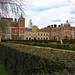 The private South Front and centre section, Hatfield House