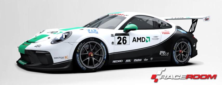 RaceRoom 2017 PORSCHE 911 GT3 CUP