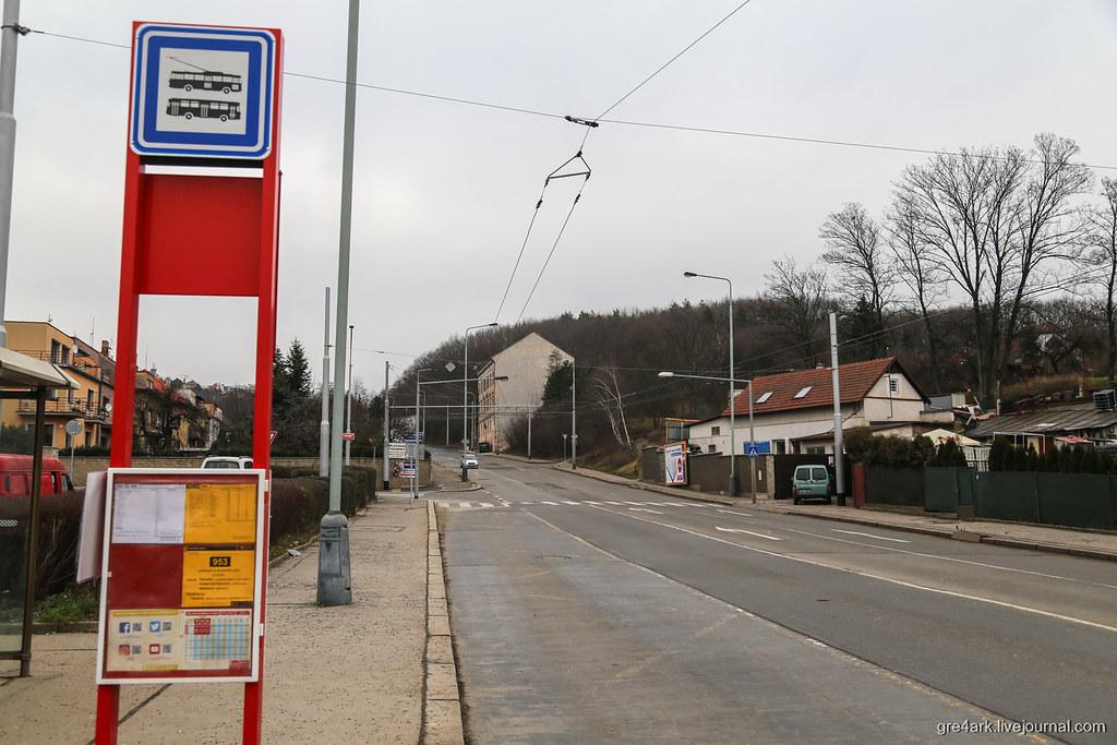 Линия для электробуса в Праге