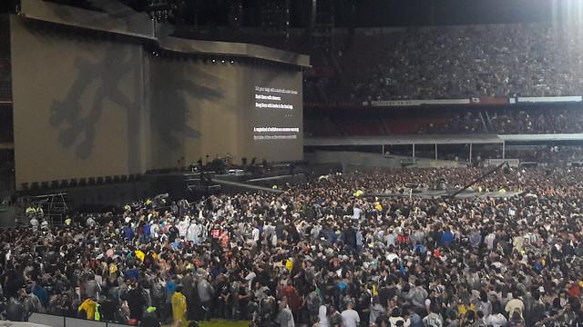 U2 — The Joshua Tree Tour — São Paulo Oct 22, 2017
