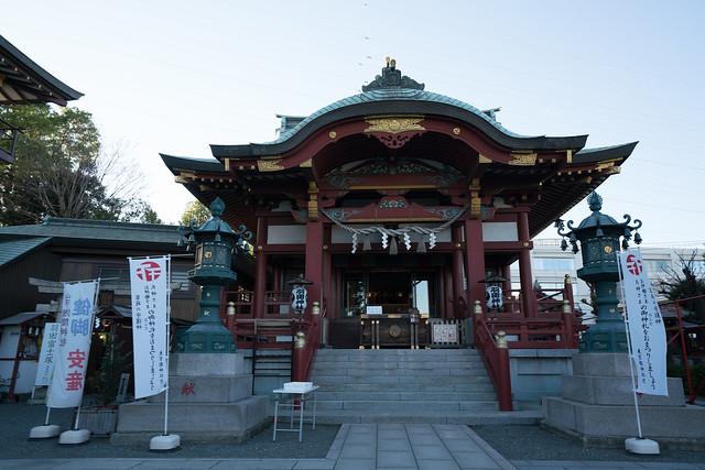 羽田神社の参拝