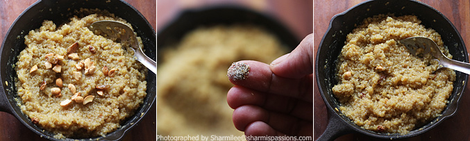 How to make quinoa sweet pongal recipe