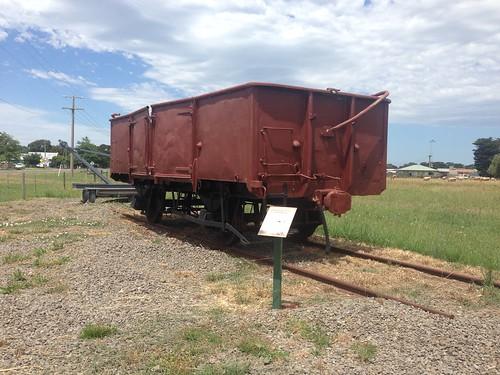 GY railway wagon, Cowwarr