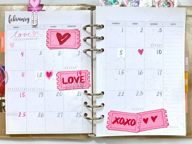precious remembrance shop love planner page