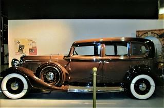 1933 Lincoln KB @ California Automobile Museum, Sacramento