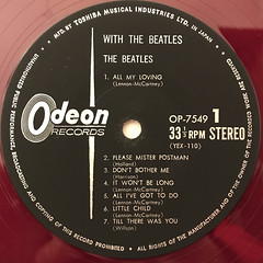 THE BEATLES:WITH THE BEATLES(LABEL SIDE-A)
