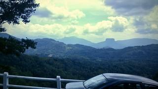 Bible Rock , View from Kadugannawa Sri Lanka
