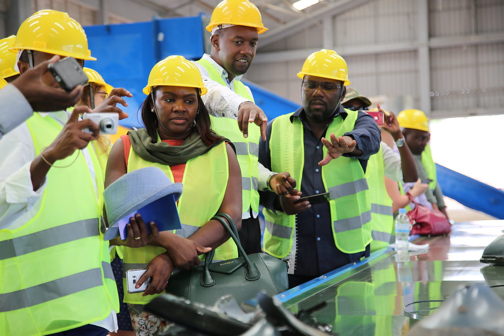 Rwanda Green Growth Week - Learning Tour to Rwanda E-Waste Recycling Facility