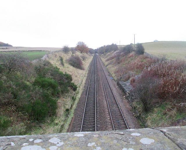 Railway  track, Fife