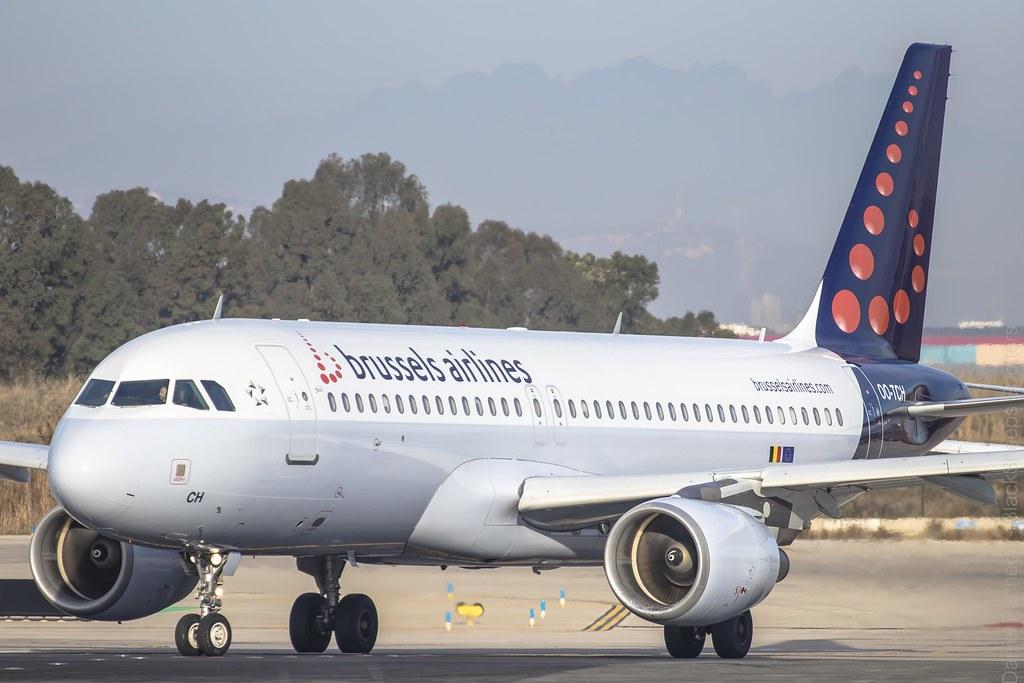 Airbus a320-214 OO-TCH @LEBL