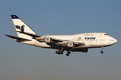 Iran Air  Boeing 747SP-86 EP-IAA