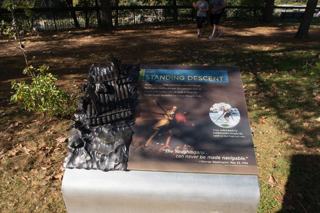 Dioramas at Ohiopyle State Park