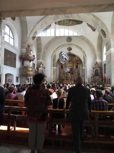20170615 05 121 Jakobus Satteins Fronleichnam Kirche Altar
