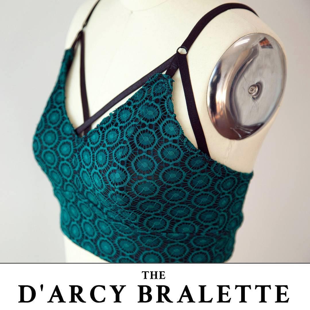 Mood Fabrics Free Sewing Bralette Pattern D'arcy Bralette