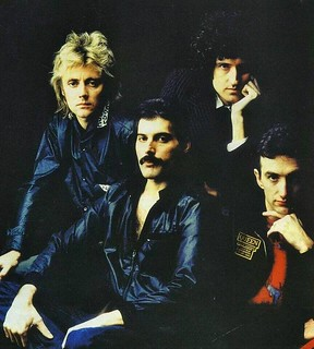 Queen - photosession with Lord Snowdon - 1981