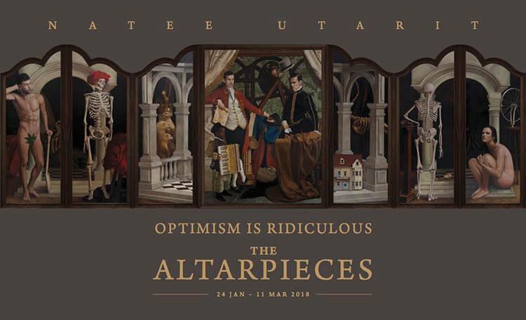 Altarpieces Natee Utarit