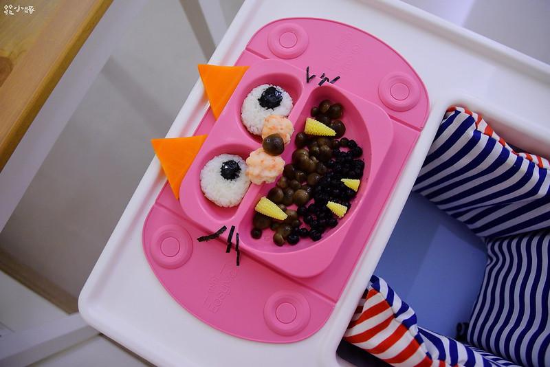easymat餐盤防拔嬰兒餐具吸盤嬰兒餐具推薦嬰兒副食品餐具推薦EasyMat防滑矽膠餐盤 (21)