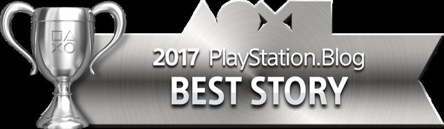 PlayStation Blog Game of the Year 2017 - Best Story (Silver)