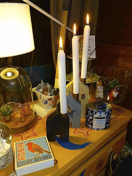 trois bougies