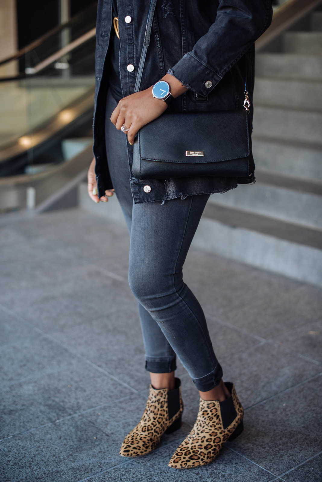 how to style a Kate Spade bag