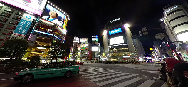 Insta360 Nano S:渋谷(夜)