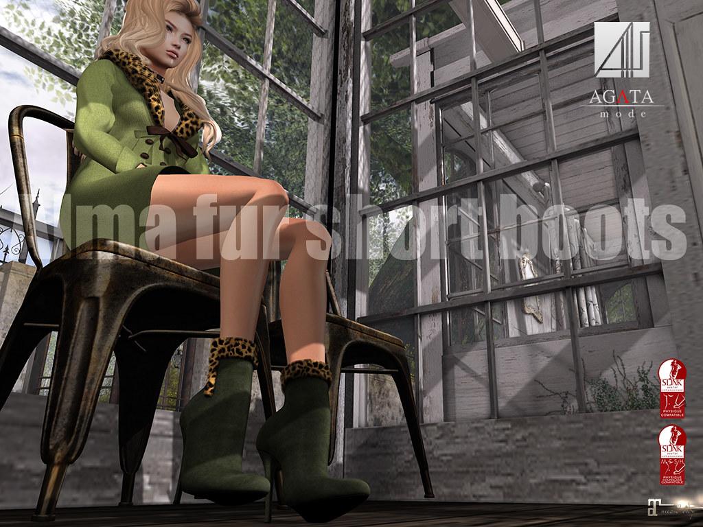 Alma short boots @ winter trend