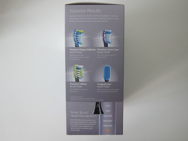 Philips Sonicare DiamondClean Smart - Box Side