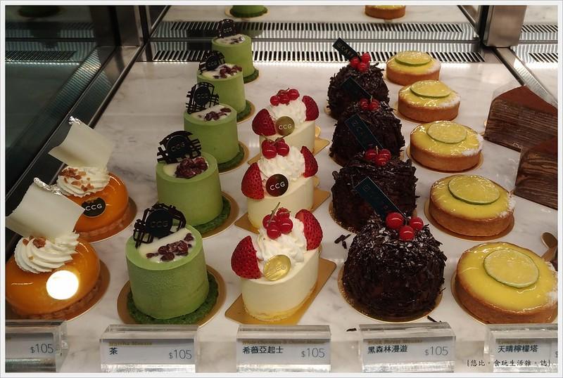 卡啡那CAFFAINA 大墩店-41-2甜點櫃