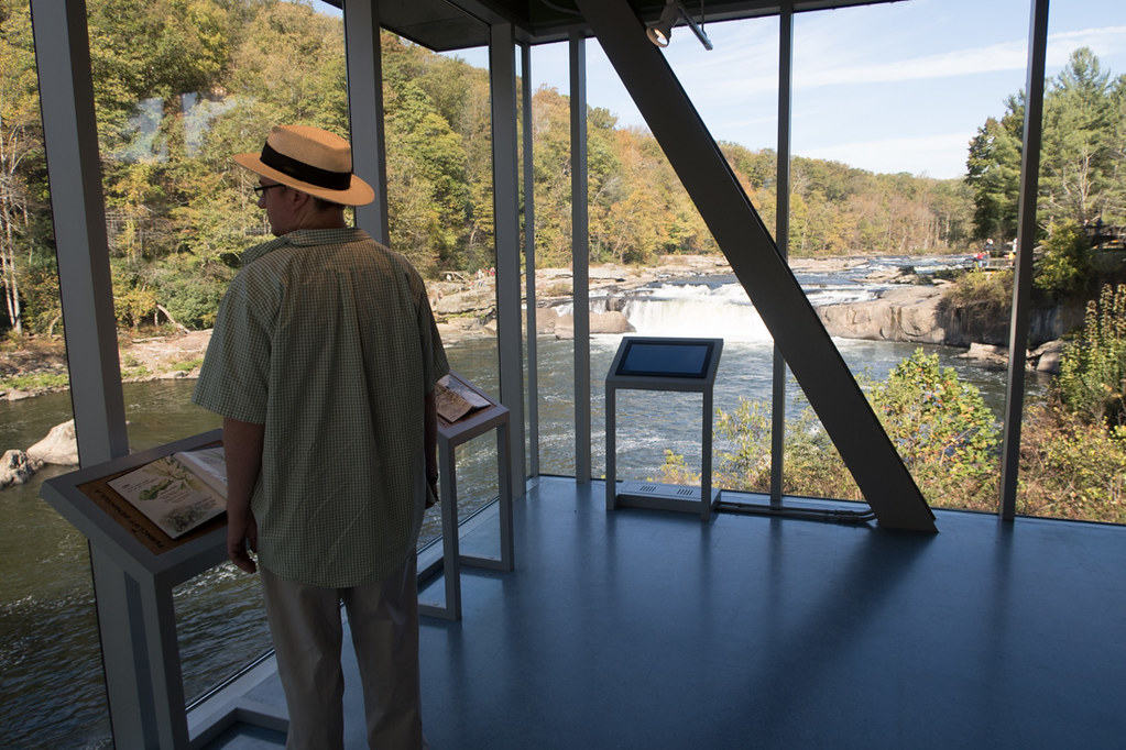 Ohiopyle Visitor Center Lookout Windows