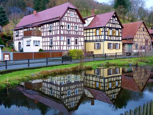 Fachwerk in Meusebach