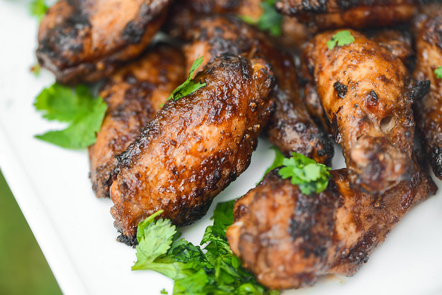 Char Siu Chicken Wings