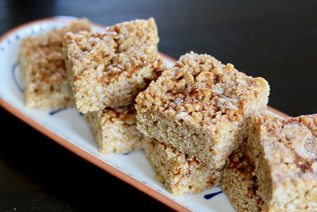 Cinnamon Cajeta Rice Crispy Treats - 26